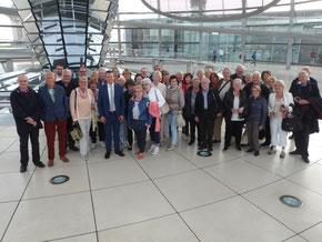 Im Reichstag        Foto: Werner Echle