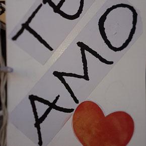 Herz - TE AMO - Spanisch