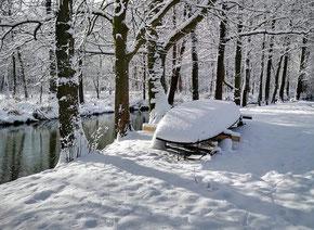 Spreewaldhafen Pohlenzschaenke Burg Kahnfahrten