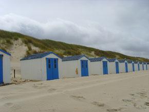 Urlaub, Strand, Sonne, Meer, Strandhäuser