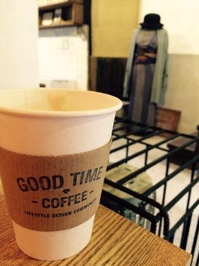 Good Time Coffeeのキャラメルラテ