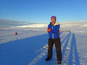 2017年度中、南極滞在中の村越
