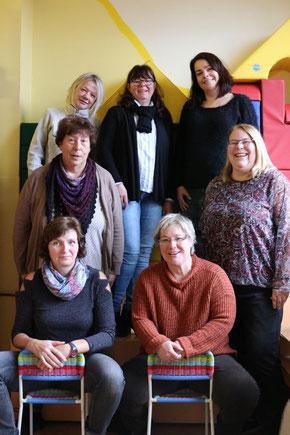 """Das Team """"Erziehungsstellen"""" freut sich auf die Fragen vieler potenzieller Pflegefamilien. (Bild: Caritas Duisburg)"""