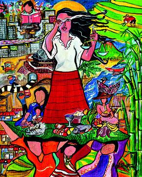 """Rowena Apol Laxamana Sta Rosa: """"A Glimpse of the Philippine Situation"""", © Weltgebetstag der Frauen – Deutsches Komitee e.V."""