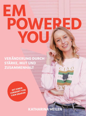 "book cover ""Empowered You"" from Katharina Heilen"