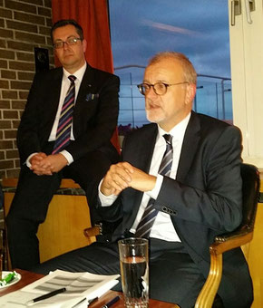 Winfried Hartmann (right) and Mathias Jakobi sent out ACD's pleas  -  photo: hs