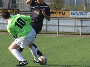 Kapitän Manshaupt und der TSV erkämpften sich wichtige drei Punkte im Abstiegskampf