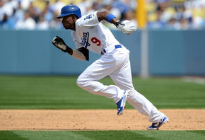 Nella foto Dee Gordon Los Angeles Dodgers (Jayne Kamin-Oncea-USA TODAY Sports)