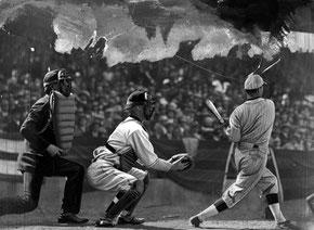 Nella foto una partita disputata al Wrigley Field (Chicago) il 9 Aprile 1930
