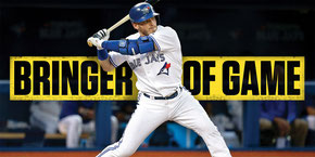 Nella foto  Josh Donaldson, leader RBI (123) in American League (SPORTSNET)