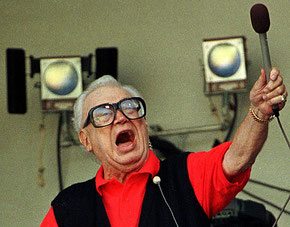 Nella foto Harry Caray