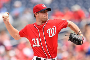 Nella foto Max Scherzer leaders negli strike out (284) (Mitchell Layton/Getty Images)