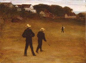 The Ball Players di William Morris Hunt
