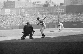 Nella foto gara 3 delle World Series del 1960 allo Yankee Stadium, 8 Ottobre  1960