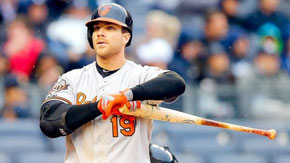 Nella foto Chris Davis, con 47 Home Runs è stato il leader della American League (Jim McIsaac / Getty Images North America)