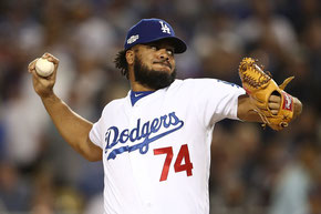 Nella foto Kenley Jansen (Sean M. Haffey/Getty Images North America)