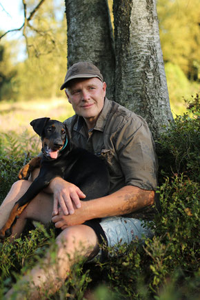 Roland Steckelbach Chef der Hundeschule-Biggesee