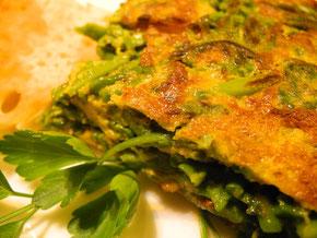 Wildspargel Omelette
