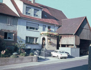 Haus Rubel Hauptstraße 213 heute Nummer 107