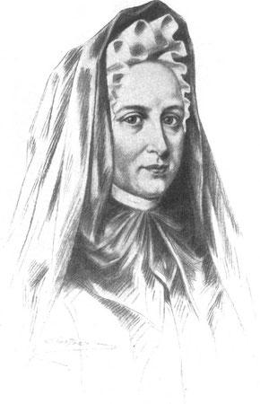 """""""Jeanne Marie Bouvier de la Motte Guyon - Project Gutenberg eText 13778"""". Lizenziert unter Public domain über Wikimedia Commons - http://commons.wikimedia.org/wiki/File:Jeanne_Marie_Bouvier_de_la_Motte_Guyon_-_Project_Gutenberg_eText_13778.jpg#mediaviewer"""