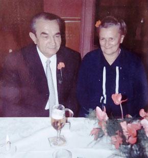 Goldene Hochzeit von Oma Maria und Opa Peter