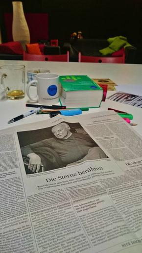 Artículo sobre Eduardo Galeano en el Süddeutsche Zeitung
