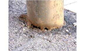 Verifica corrosione pali illuminazione pubblica e privata