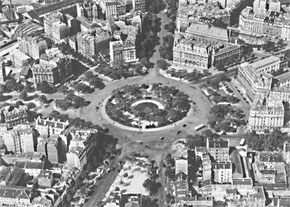 La place d'Italie en 1955