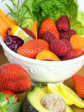 gesunde Ernährung, Obstkorb Trockene Augen/Sicca Syndrom