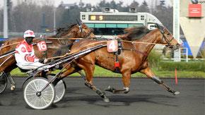 Voyage gewinnt ihr zweites Rennen in Vincennes