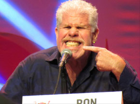 Ron Perlman during the Hellboy Panel at Comic Con Los Angeles 2019