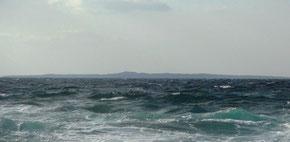 西之表から見た馬毛島
