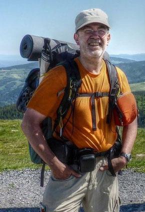 Harald Roller auf dem Westweg