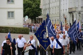 Wallfahrt der Männer in der Willibaldswoche 2016. Archiv-Foto: Geraldo Hoffmann