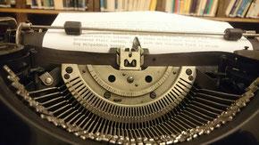 Schreibmaschinentyporad