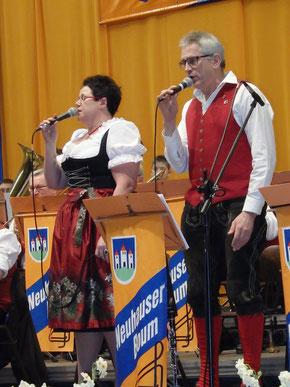 Gesangsduo Anita Bergler und Josef Rettinger