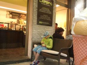 LattePiu - feines Eis in Grado, Martin sah das auch so.