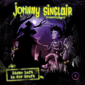 CD-Cover Johnny Sinclair Folge 4
