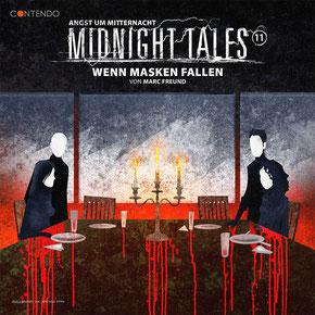 CD-Cover Midnight Tales - Folge 11 - Wenn Masken fallen