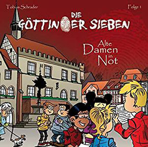 CD-Cover Die Göttinger Sieben - Alte Damen in Not
