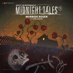 CD-Cover Midnight Tales - Folge 7 - Morbide Rosen