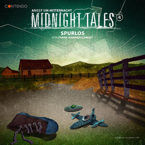 CD-Cover Midnight Tales - Folge 4 - Spurlos