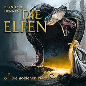 CD-Cover Die Elfen - Die goldenen Pfade