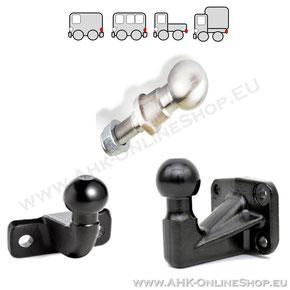 AHK-Ball, Kugelkopf für Anhängerkupplung für PKW, Quad, Ackermaschine
