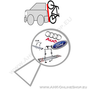 Heck-Fahrradträger einfache Suche