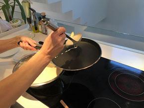 Blini-Zubereitung