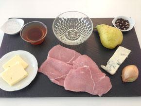 Kalbsschnitzel an Gorgonzola Sauce