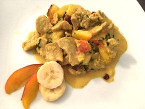 Curry mit Früchten