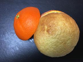 Orangen-Soufflé