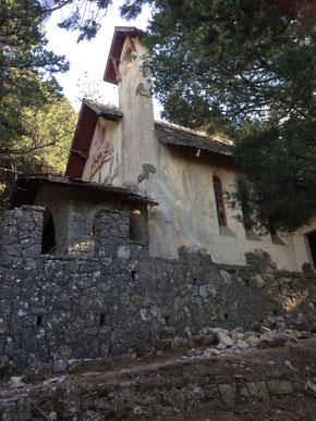 Kirche der Villa de Vecchi